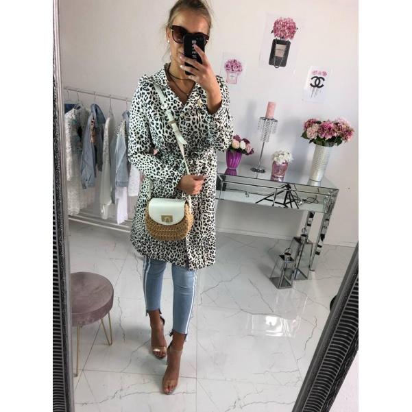 Luxusní kabátek se vzorem