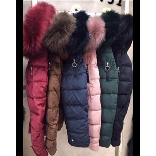 Perfektní zimní bundičky s bohatým kožichem