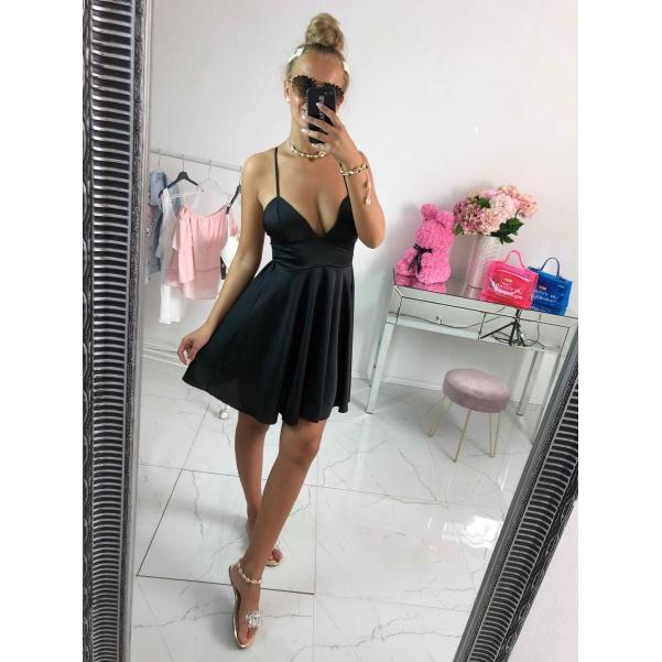 Krásné šaty Nina černé