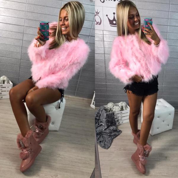 Kabátek sweet pink