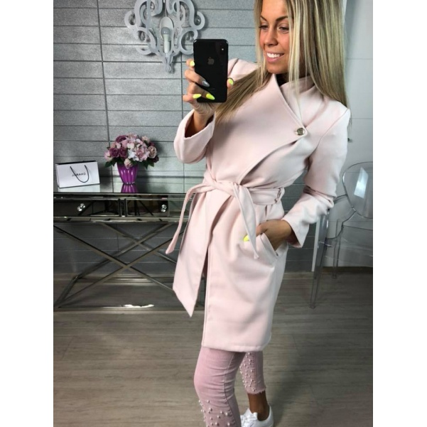 Kabátek Miley růžový