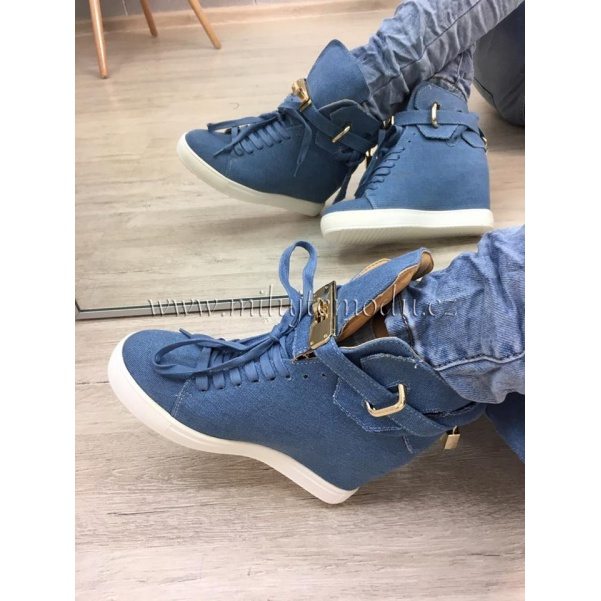 Jeans tenisky