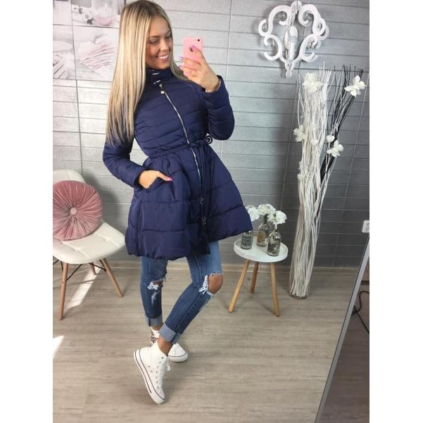 Modrý kabátek na jaro