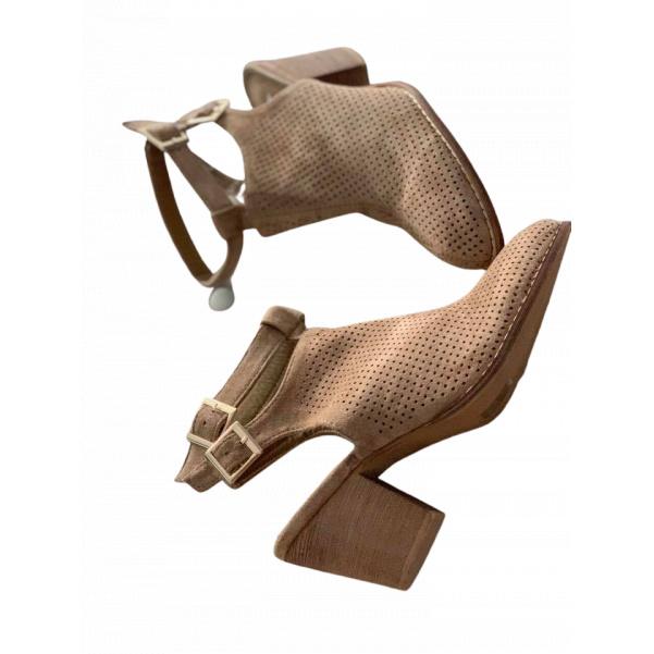 Pohodové polobotky na podpatku