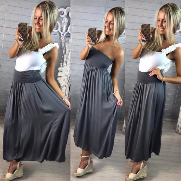 Šaty nebo suknička tmavě šedá