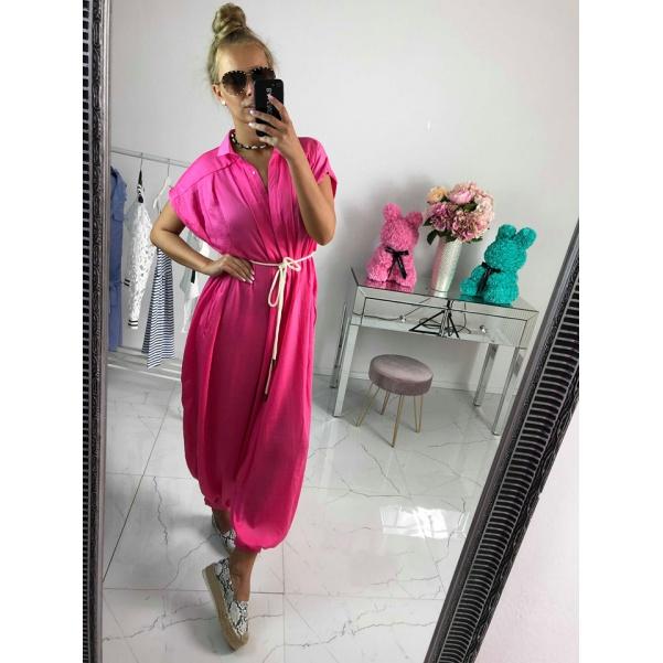 Luxusní overál - Queen Pink