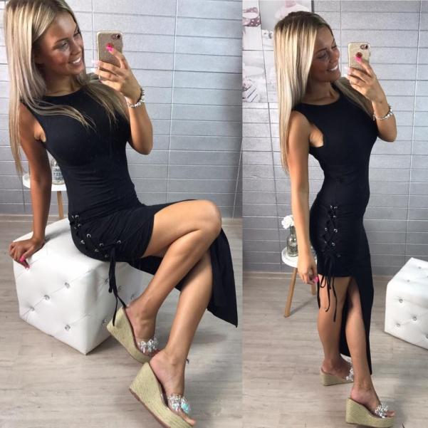 Sexy šatičky s vázáním