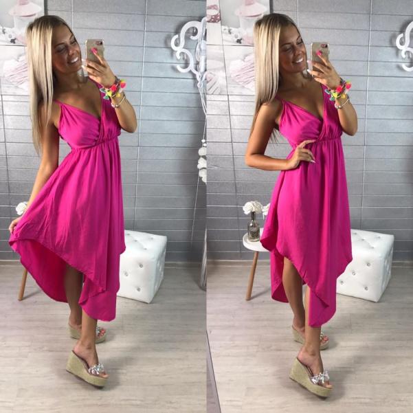 Růžové šatičky Hanna