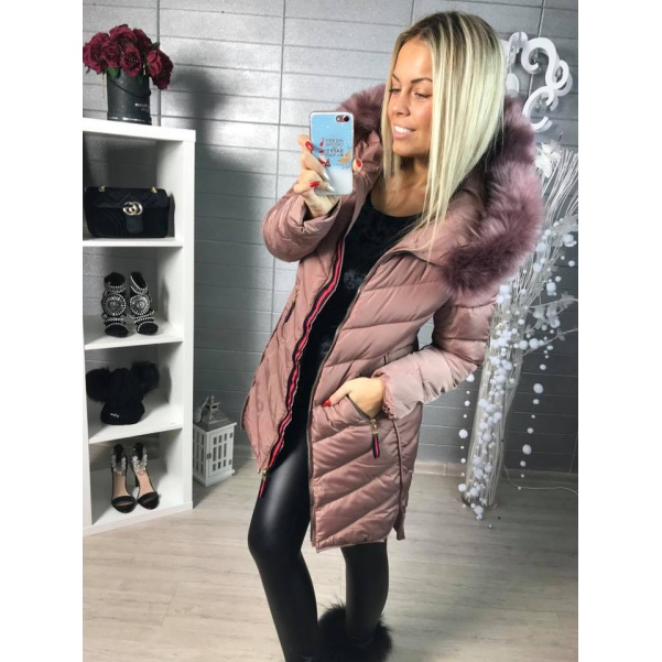 Long bundička ala Gucci pink