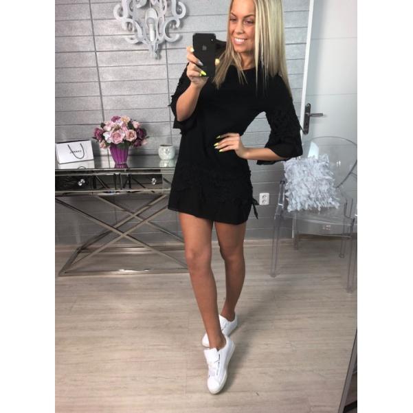 Kraječkové šaty černé