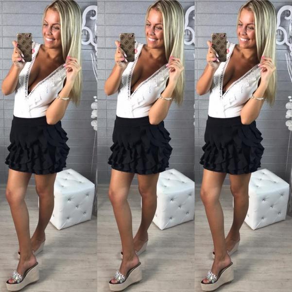 "Černá suknička ""Vivien"""