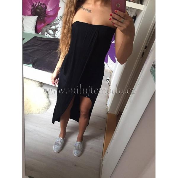 Pohodové černé šaty