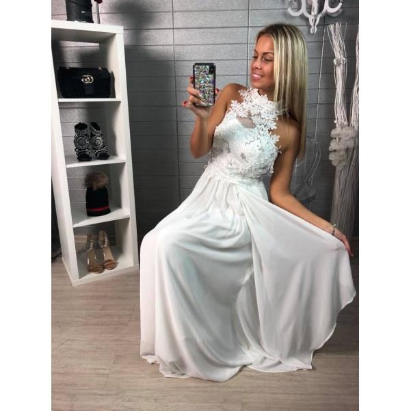 Luxusní bílé šatičky