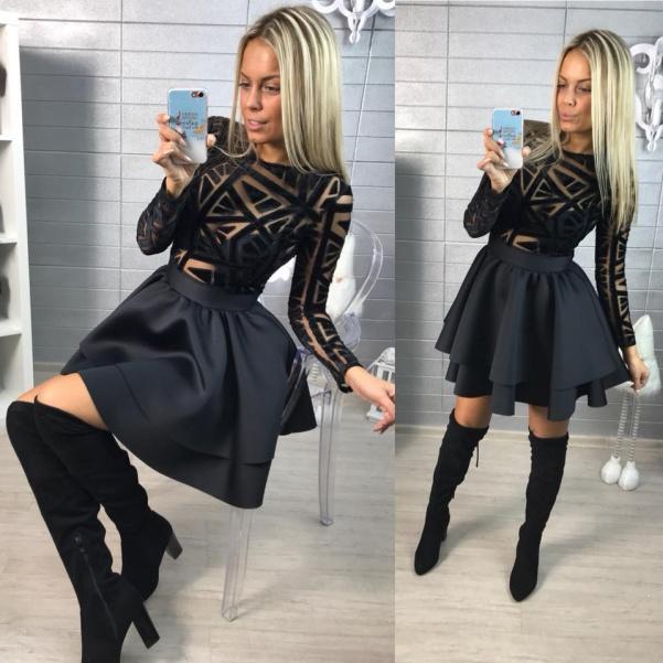 Nádherné šatičky s maxi sukničkou