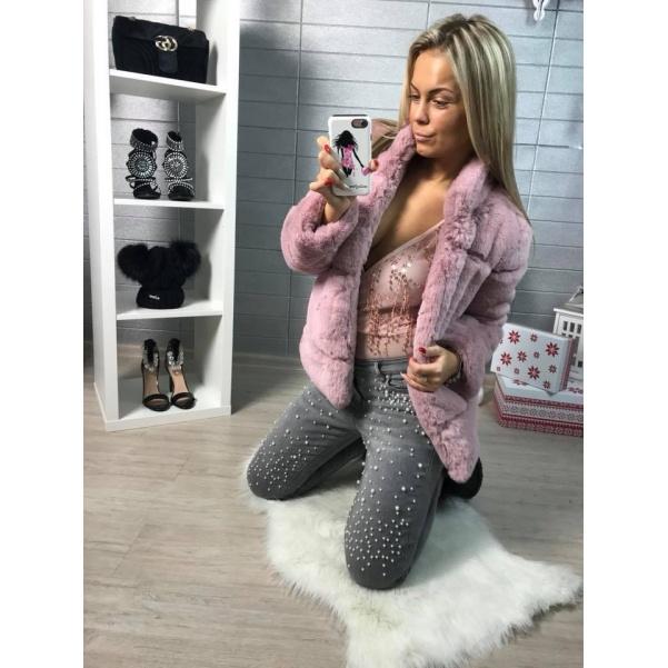 Úžasný pink kabátek ala Zarra
