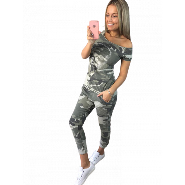 Army triko  s kamínky