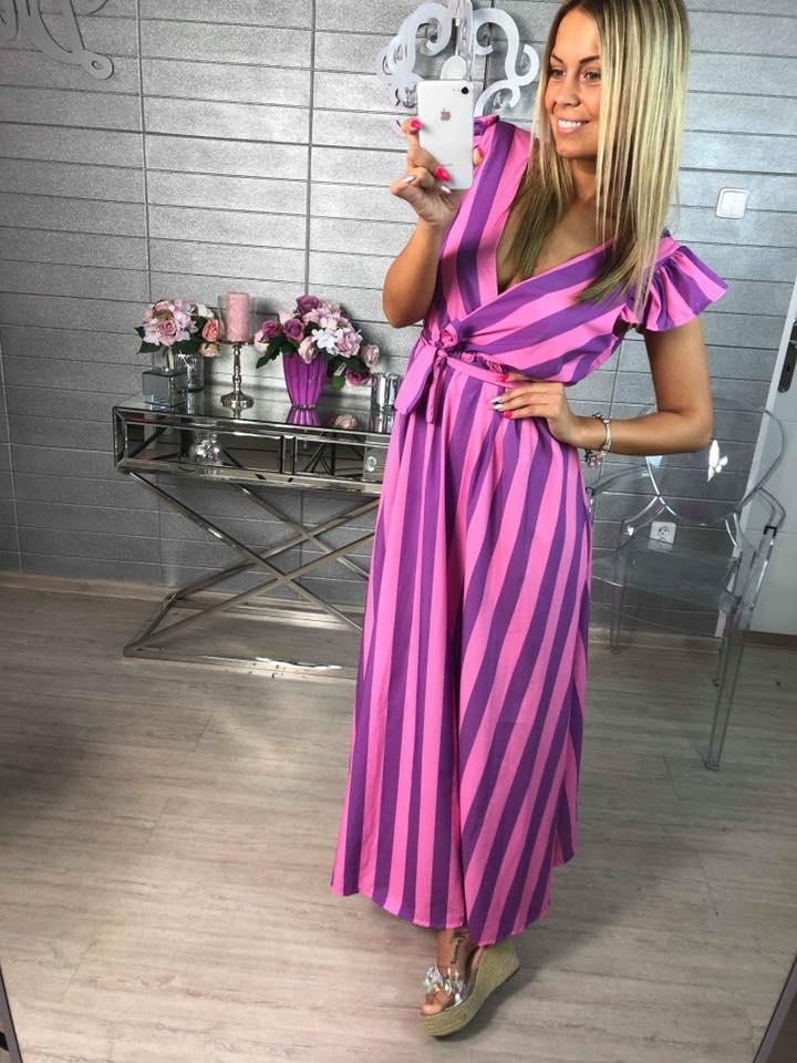 d2cbd8ecf63 Letní luxusní šaty s vázaním - www.milujtemodu.cz