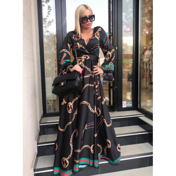 Luxusní šaty ala Gucci