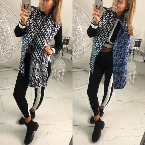 TOP šála ala Dior