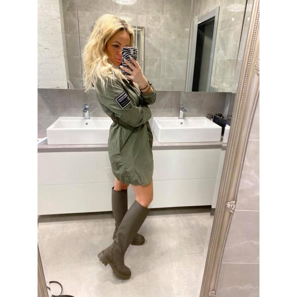 Jarní bunda - kahaki