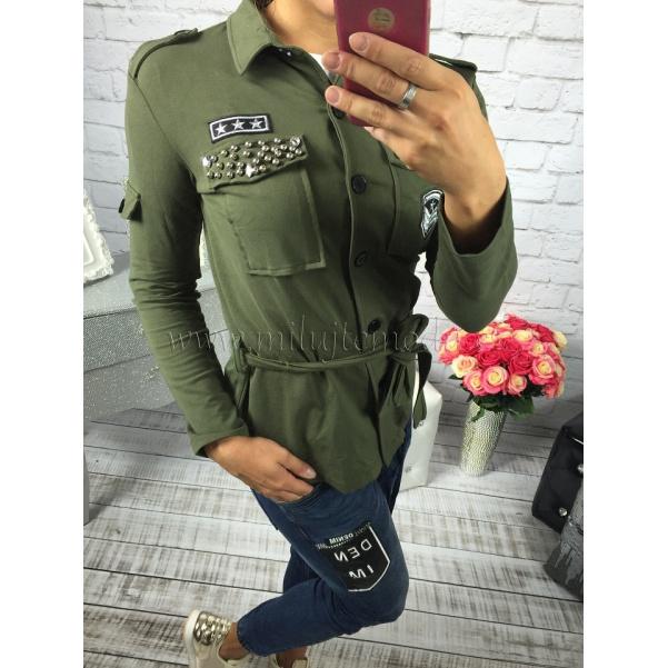 Khaki militari mikina