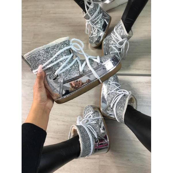 Luxusní sněhulky silver