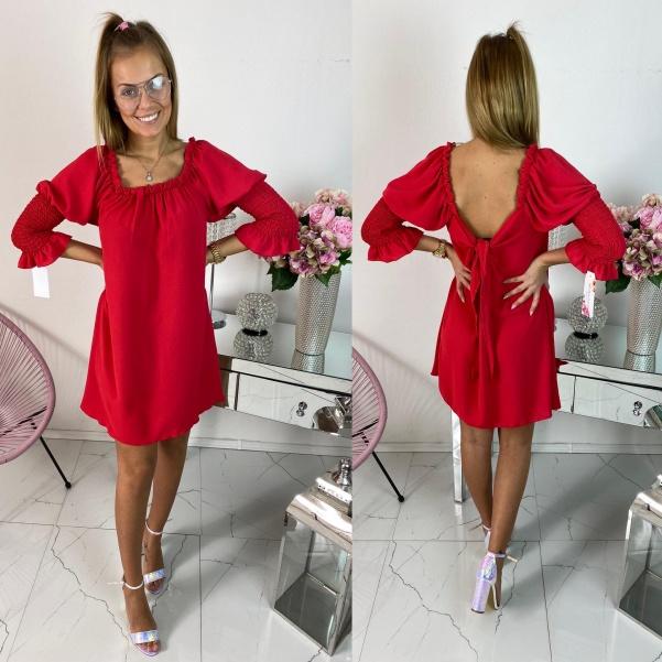 Šaty Hannah červené