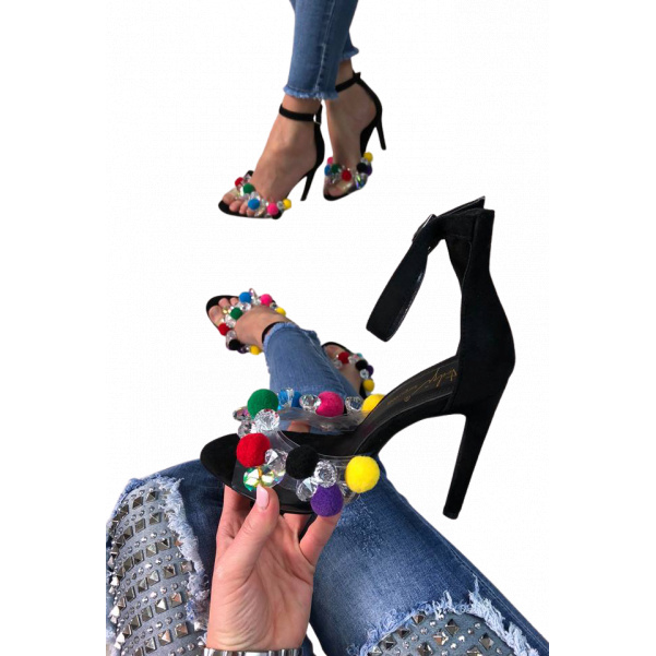 Luxusní botky na podpatku