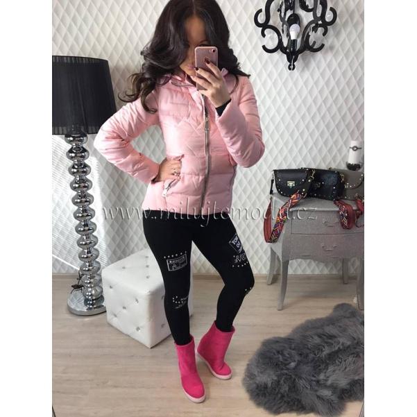 Top pink bundička