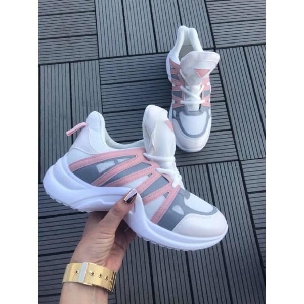 Růžové LV tenisky