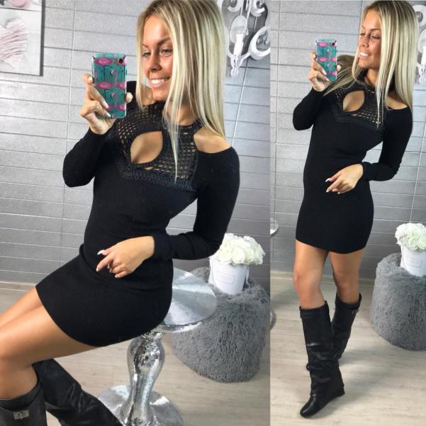 Šatičky Lady black