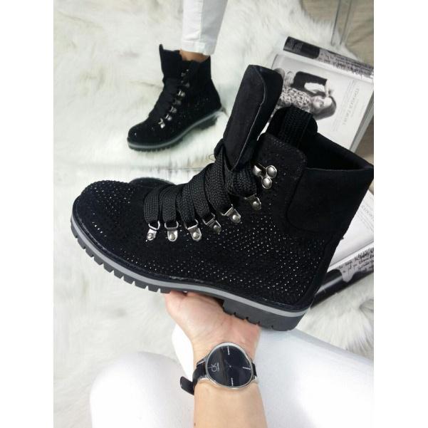 Kamínkové botičky black