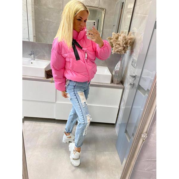 Pink bundička s ledvinkou