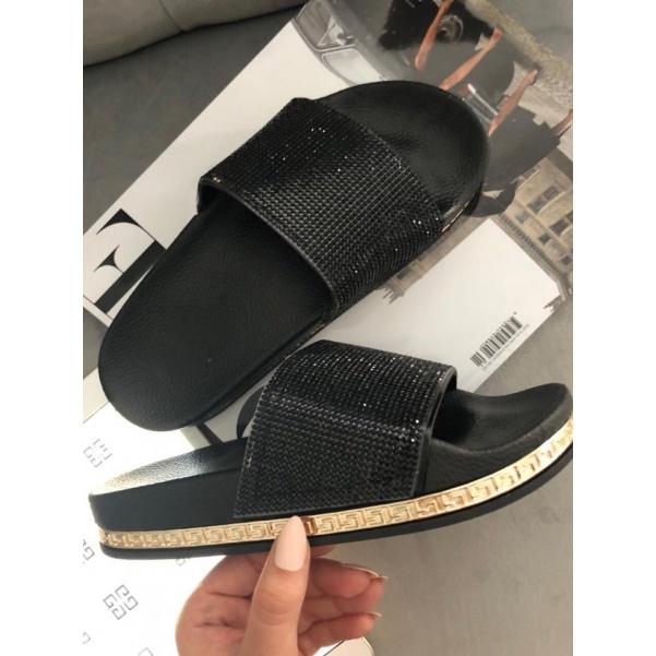 TOP nazouváky black