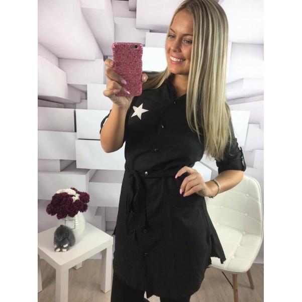 Černá košile STAR
