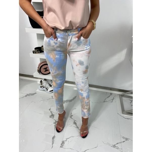 Super batikované džíny