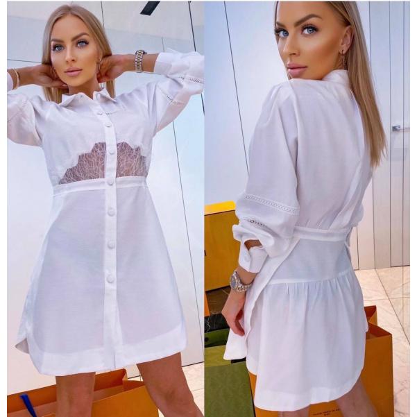 Šaty Lucia bílé
