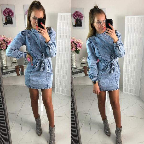 Jeans šaty Ollie