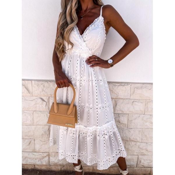 Bílé šaty Loretta
