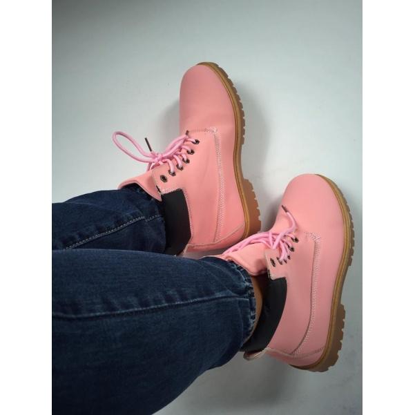 Pink kotníkové botky