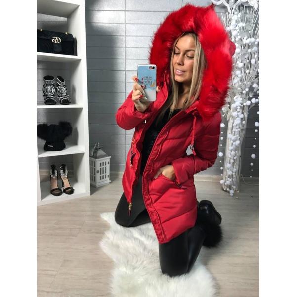 Top bundička ala Gucci červená