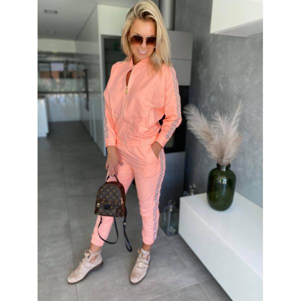 Komplet bundička +kalhoty - Orange  Luisa
