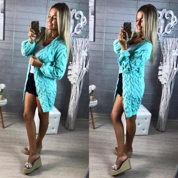 Luxusní svetr - Mint