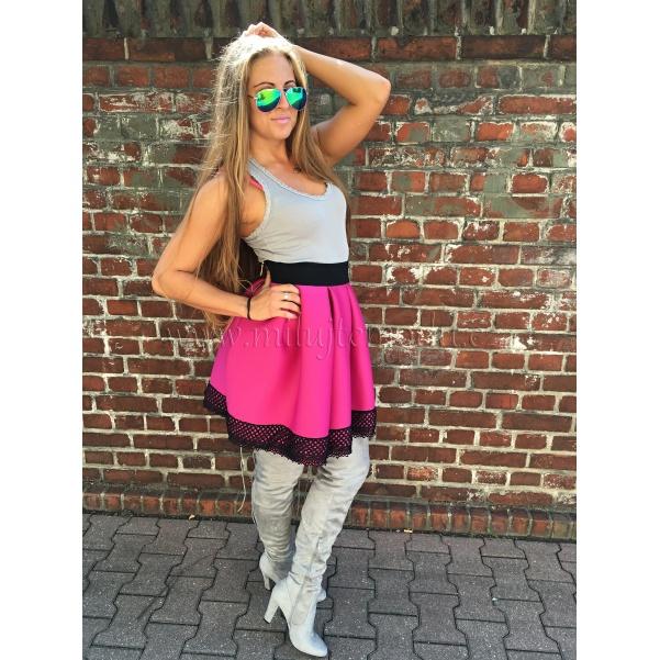 Fialová sukně