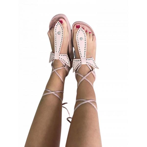 Růžové sandálky