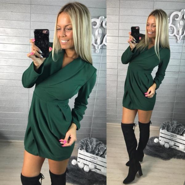 Zelené šatičky TOP