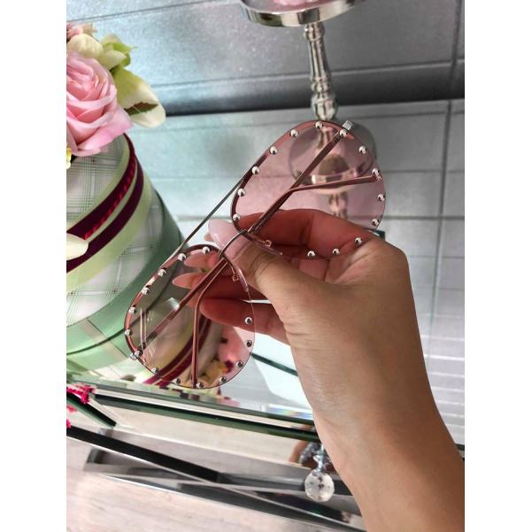 TOP sluneční brýle pink