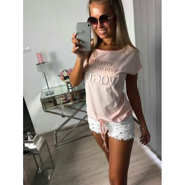 Super tunika Vogue růžová