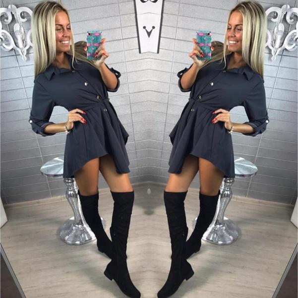 Halenko-šaty GREY