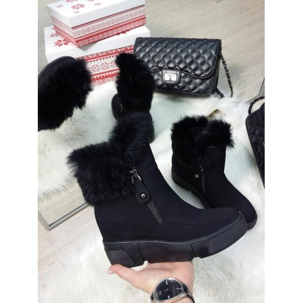 Krásné botičky s kožíškem